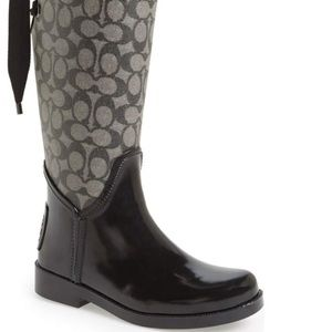 COACH Tristee Rain Boot - SOLD OUT EVERYWHERE!!!